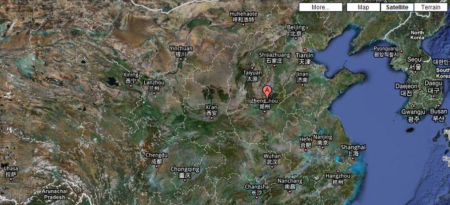 新乡市辉县地图